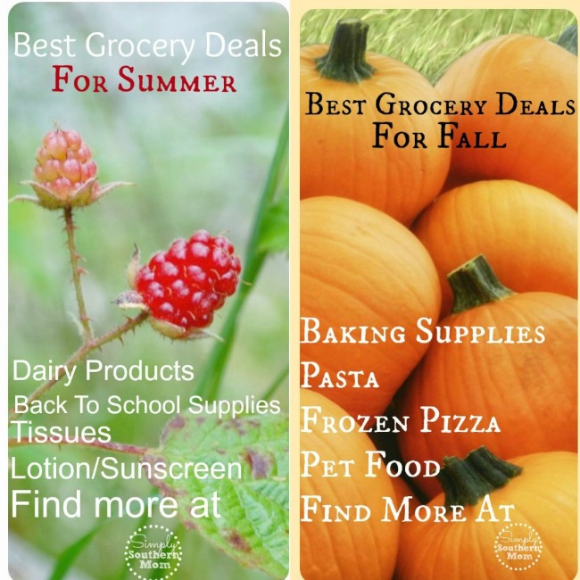 Best Grocery Deals for Summer and Falls