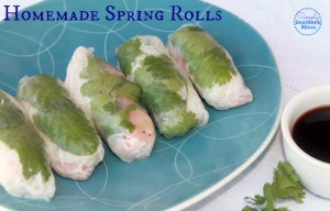 Easy Homemade Vietnamese Spring Roll Recipe