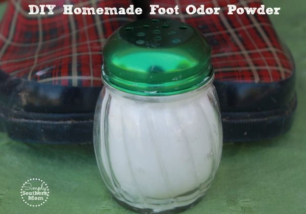 Homemade Foot Odor Powder