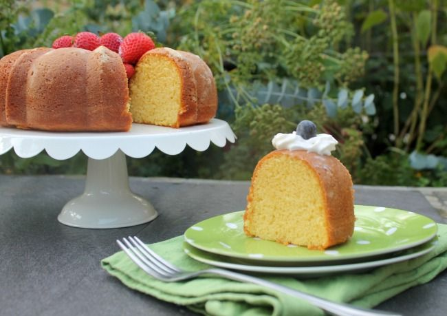 Craving cake? This old fashioned Apricot Nectar Cake is so moist and has a wonderful citrus flavor. It's an easy recipe too!