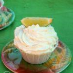 Lemon Ice Box Pie Filled Cupcakes