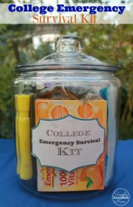 How to Make A College Emergency Survival Kit