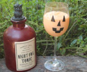 Easy Jack O' Lantern Glasses for Halloween