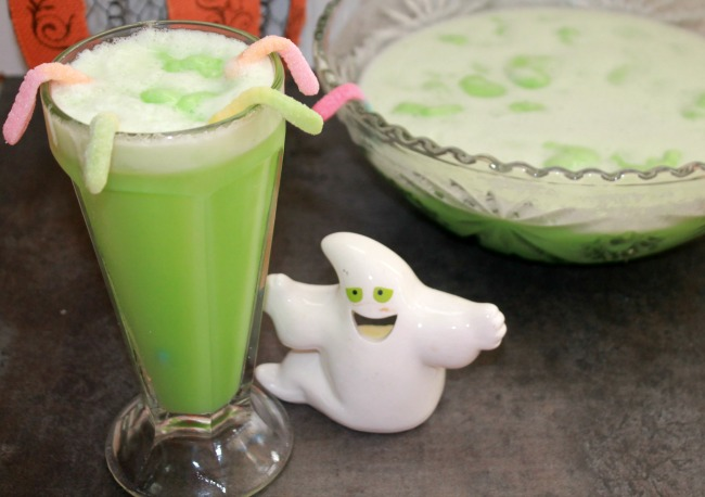 Swamp Punch Recipe for Halloween