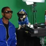 "Beatboxer Doug E. Fresh and Instagram star @ItsDougThePug pose on the New York, NY set of their music video for the hip-hop remix of Febreze's second annual ""The #12Stinks of Christmas."" Following the success of last year's ""The #12Stinks of Christmas"" music video, this funky fresh remix is available now on YouTube.com/Febreze. Eliminate stinks in a merry way all season long with Febreze's limited-edition holiday offerings. (Photo by Diane Bondareff/Invisionfor Febreze/AP Images)"