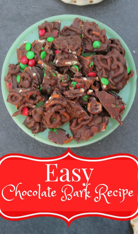 Easy chocolate bark recipes