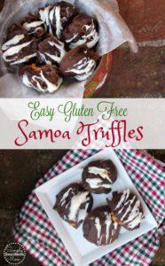Gluten Free Samoa Truffles Recipe