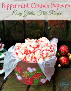 Easy Peppermint Crunch Popcorn Recipe
