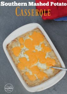 Southern Mashed Potato Casserole Recipe