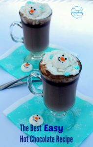 The Best Easy Hot Chocolate Recipe