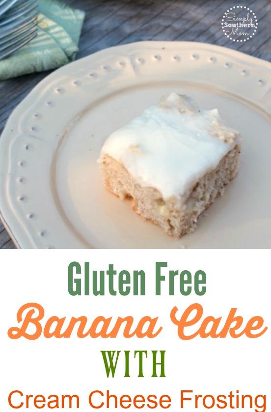 Gluten Free Banana Cake Recipe