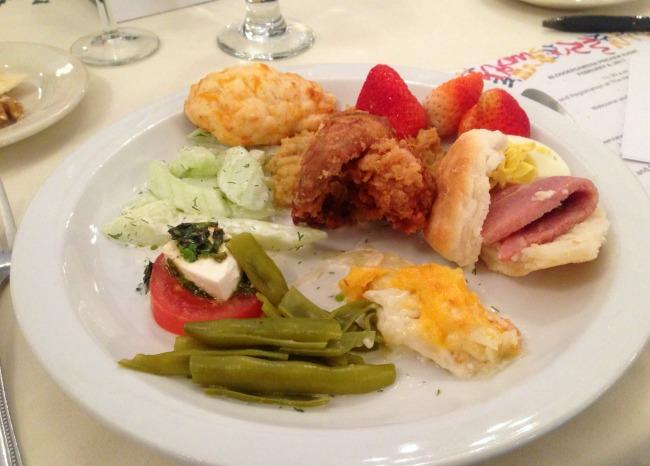lunch at Dillard House