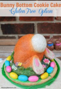 Bunny Bottom Cookie Cake Recipe
