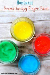 How to Make Homemade Aromatherapy Finger Paint