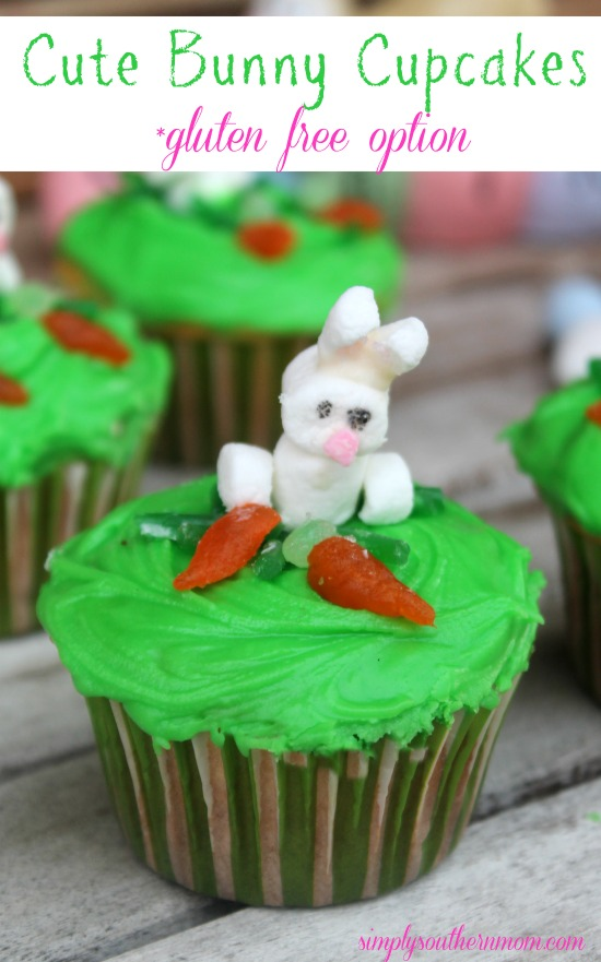 Cute Bunny Cupcakes Recipe