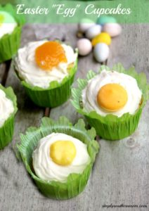 "Easter ""Egg"" Cupcakes Recipe"