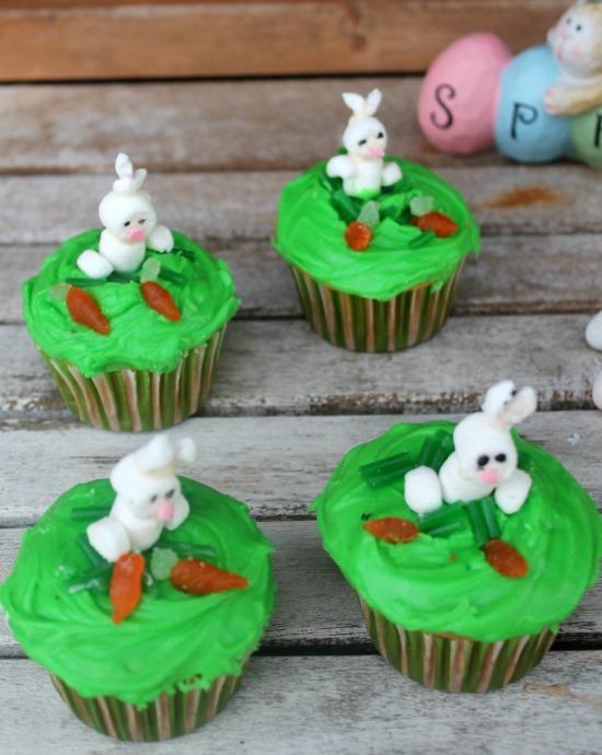 Gluten Free Bunny Cupcakes Recipe