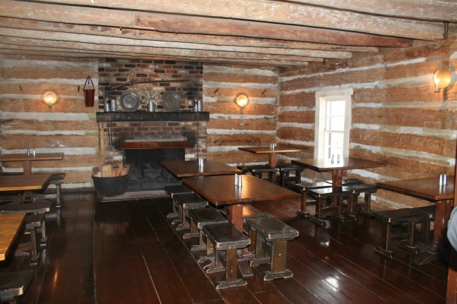 Michie Tavern Dining Room