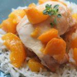 Peach chicken 1
