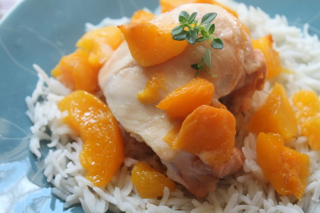 Peach chicken 1