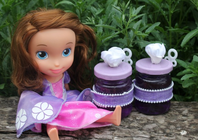 Princess Sofia Bubbles for Princess Party