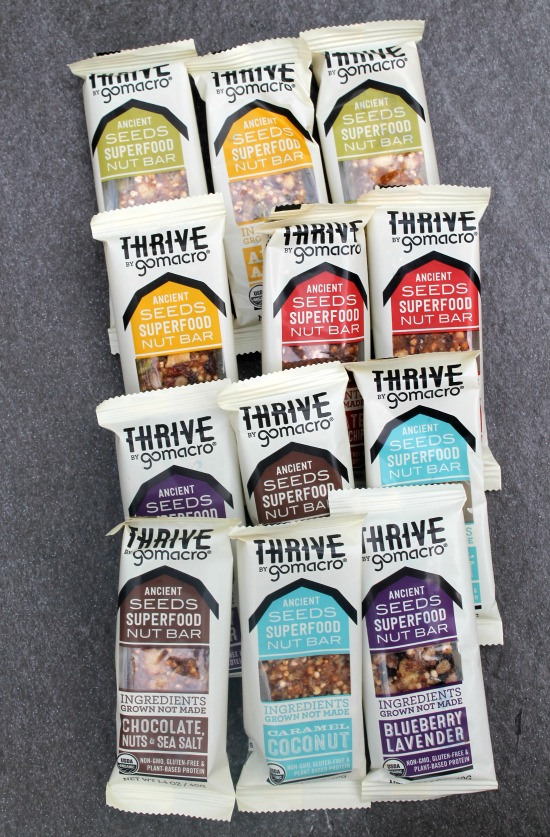Thrive Go Macro Bars
