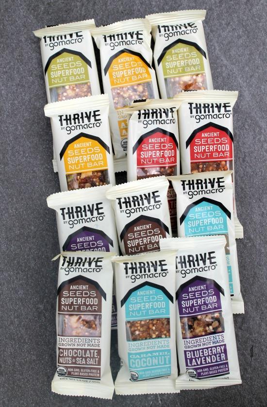 Thrive Go Macro Bars