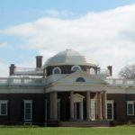 back view of monticello