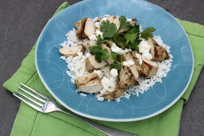Cilantro Lime Grilled Chicken Recipe