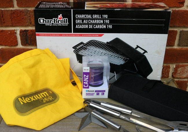 Nexium also sent us some fun summer grilling accessories!