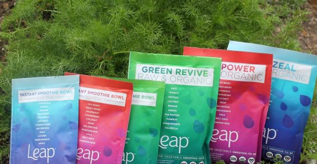 Leap Organic Smoothies