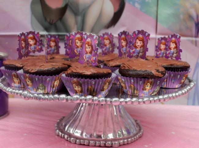 Princess Sofia Cupcakes