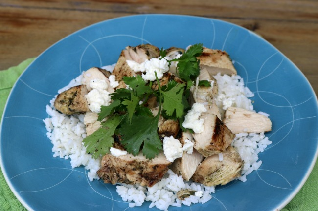 Recipe for Cilantro Lime Grilled Chicken