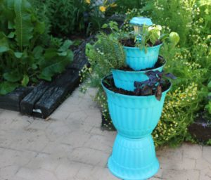 DIY Flower Pot Solar Light Planter