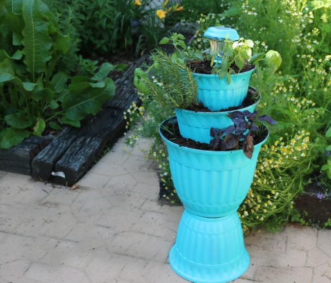 Solar Light Planter DIY