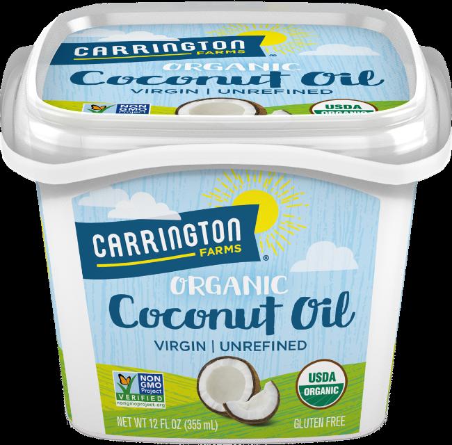 12 oz cocnut oil silo