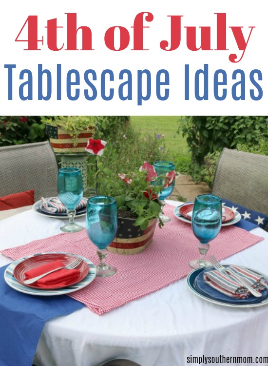 4th of July Tablescape Ideas Header