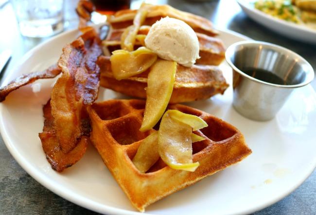 A&P Social Belgium Waffle