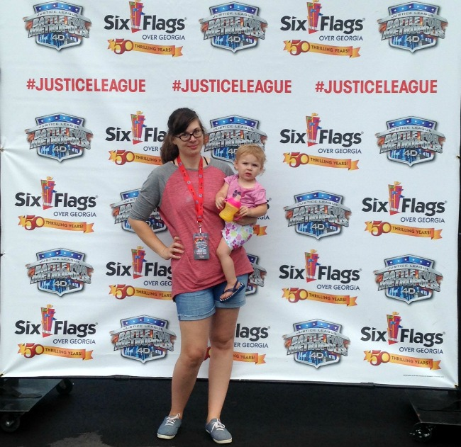 Justice League Six Flags Over Georgia