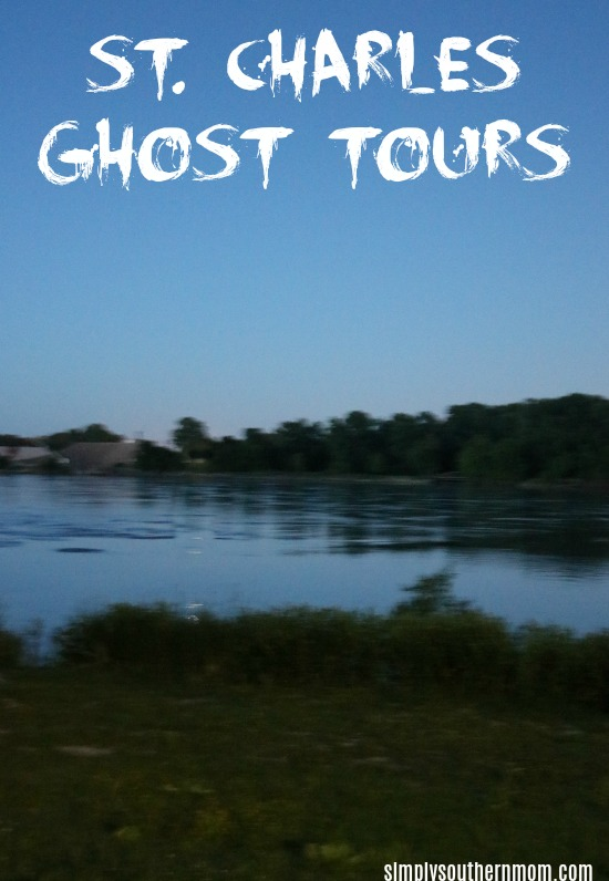 St. Charles Ghost Tours pin for post