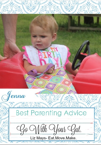 best parenting advice go with your gut