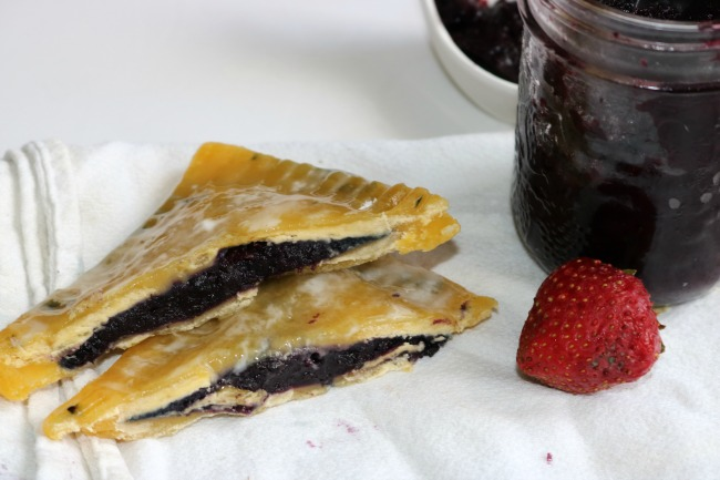 Fruit filled poptart recipe