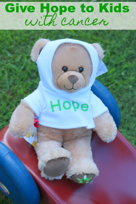 Give Hope to Kids With Cancer