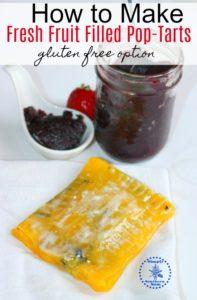 How to Make Fruit Filled Pop-Tarts