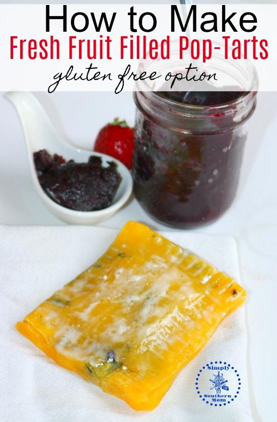 How to Make Fresh Fruit Filled Pop-Tarts