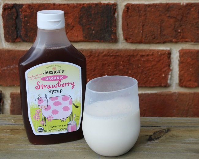 Jessica's Organic Strawberry Syrup
