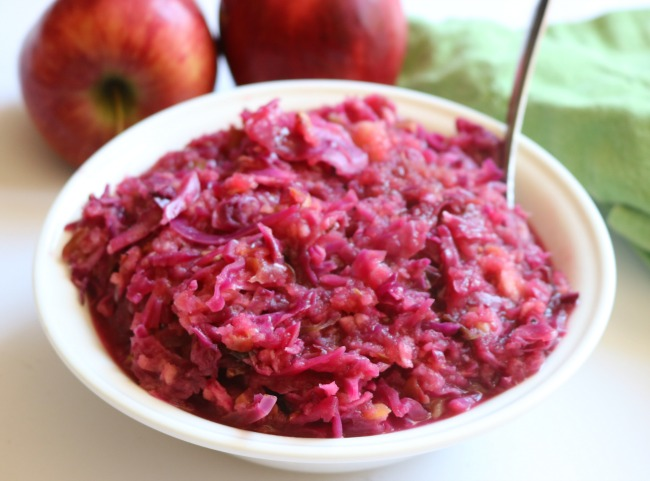 Red Cabbage & Apples
