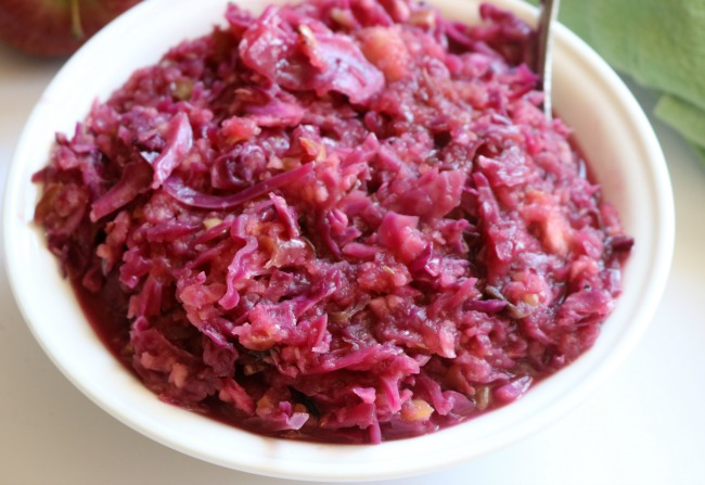 Red Cabbage and Apples recipe for dinner