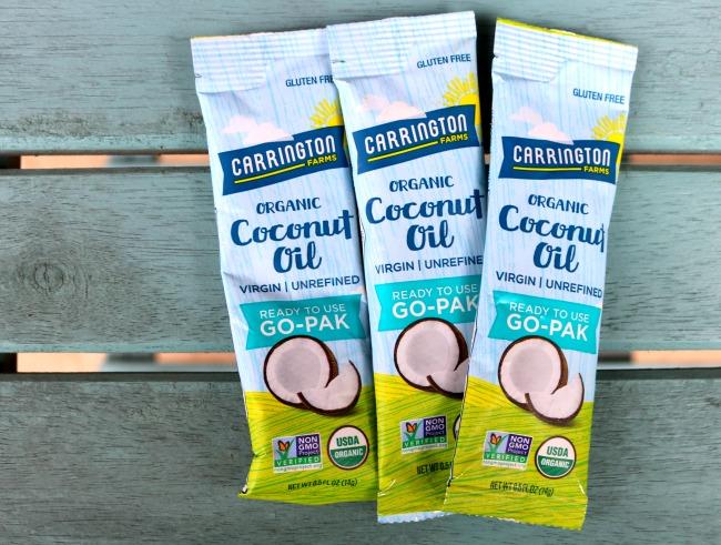 Carrington Farms Coconut Oil Go Pak