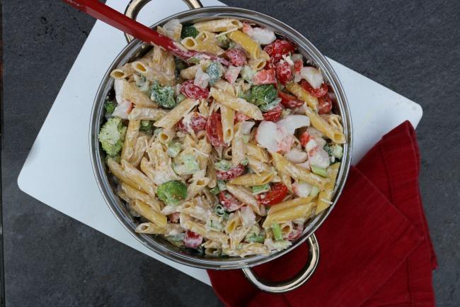 Crab Pasta Salad Recipe